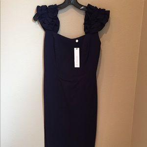 Beautiful navy dress